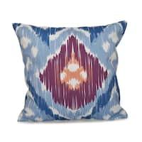 Original Geometric Print 18-inch Throw Pillow