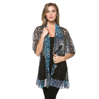 High Secret Women's Printed Cardigan