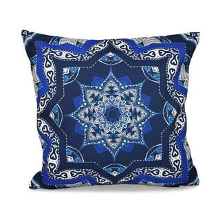 Shawl Geometric Print 16-inch Throw Pillow