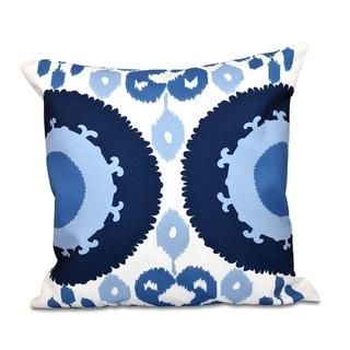 Boho Geometric Print 18-inch Throw Pillow