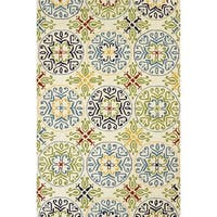 Piazza Anya Multicolored Indoor/ Outdoor Area Rug - 7'10 x 9'10