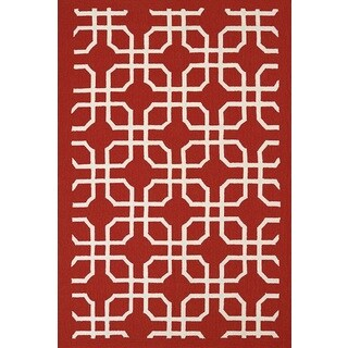 Piazza Mira Indoor/ Outdoor Area Rug (7'10 x 9'10)
