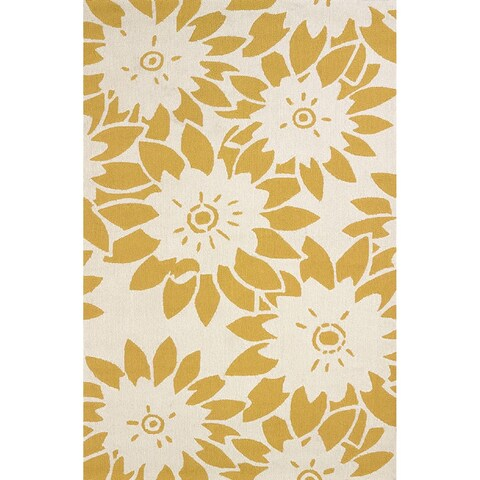Piazza Liliana Indoor/ Outdoor Area Rug (5' x 7'6) - 5' x 7'6""