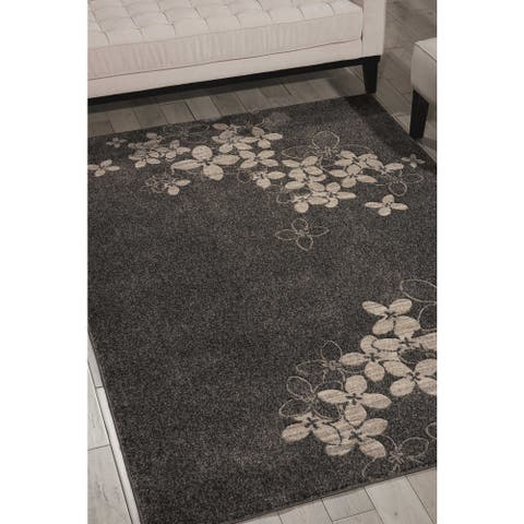 Nourison Maxell MAE02 Floral Area Rug