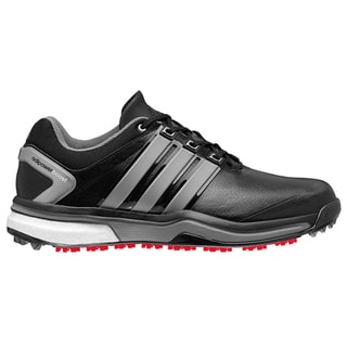 Adidas Adipower Boost Golf Shoes CLOSEOUT Black/Metallic/Black