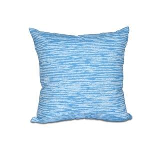 Marled Knit Geometric Print 18-inch Throw Pillow