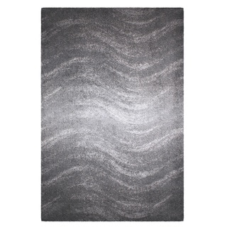 Porch & Den Williamsburg Rodney Ombre Waves Grey Rug (2' x 3')