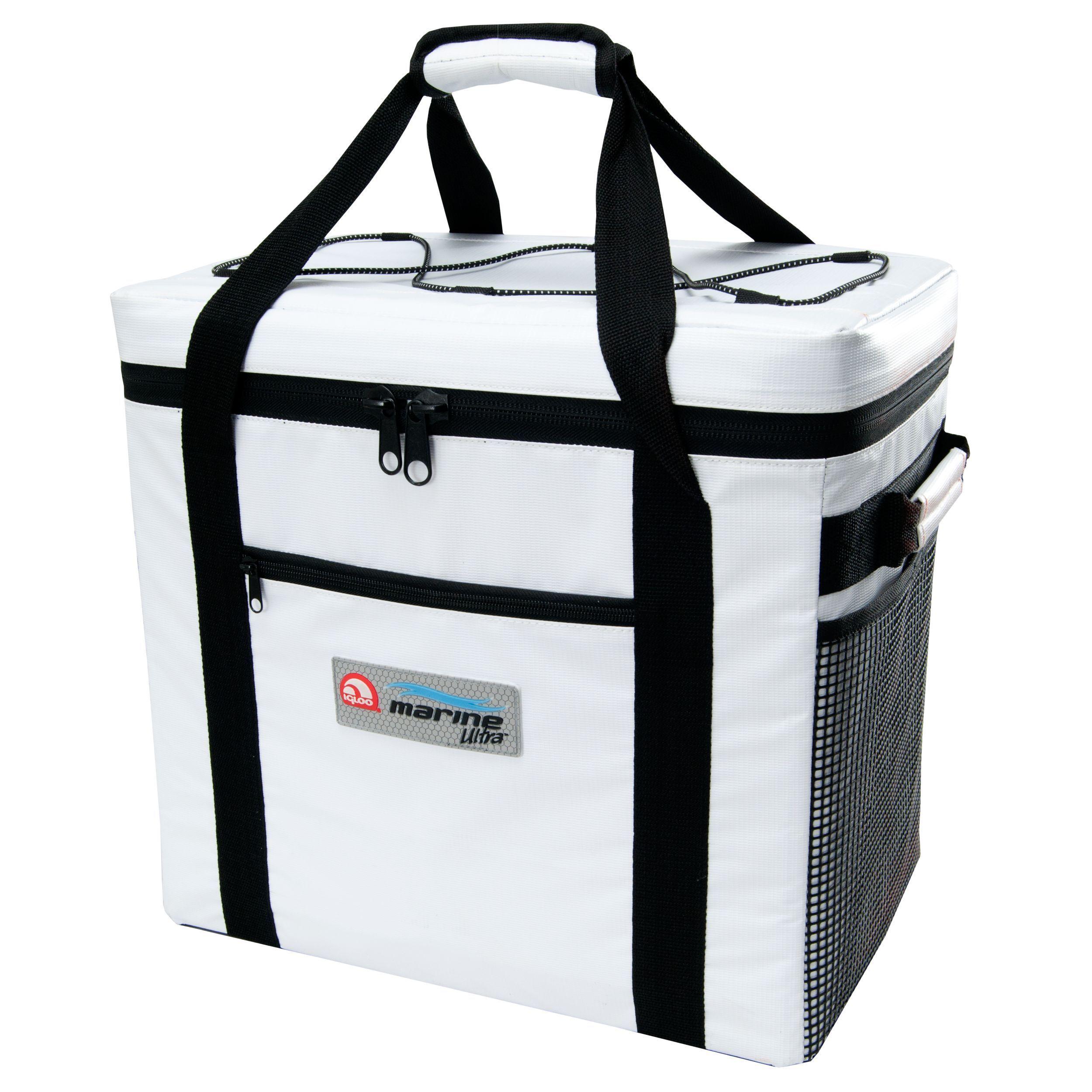 Igloo 57178 Marine Ultra 36 Can Square Cooler Bag (White)...