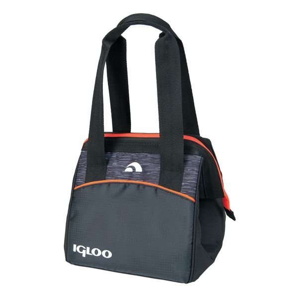Igloo 59980 Leftover Insulated Tote 9 Stowe - Black/Orange