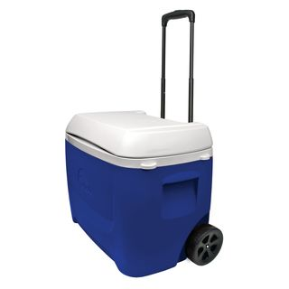 Igloo 45813 60-quart Island Breeze Roller Cooler Blue