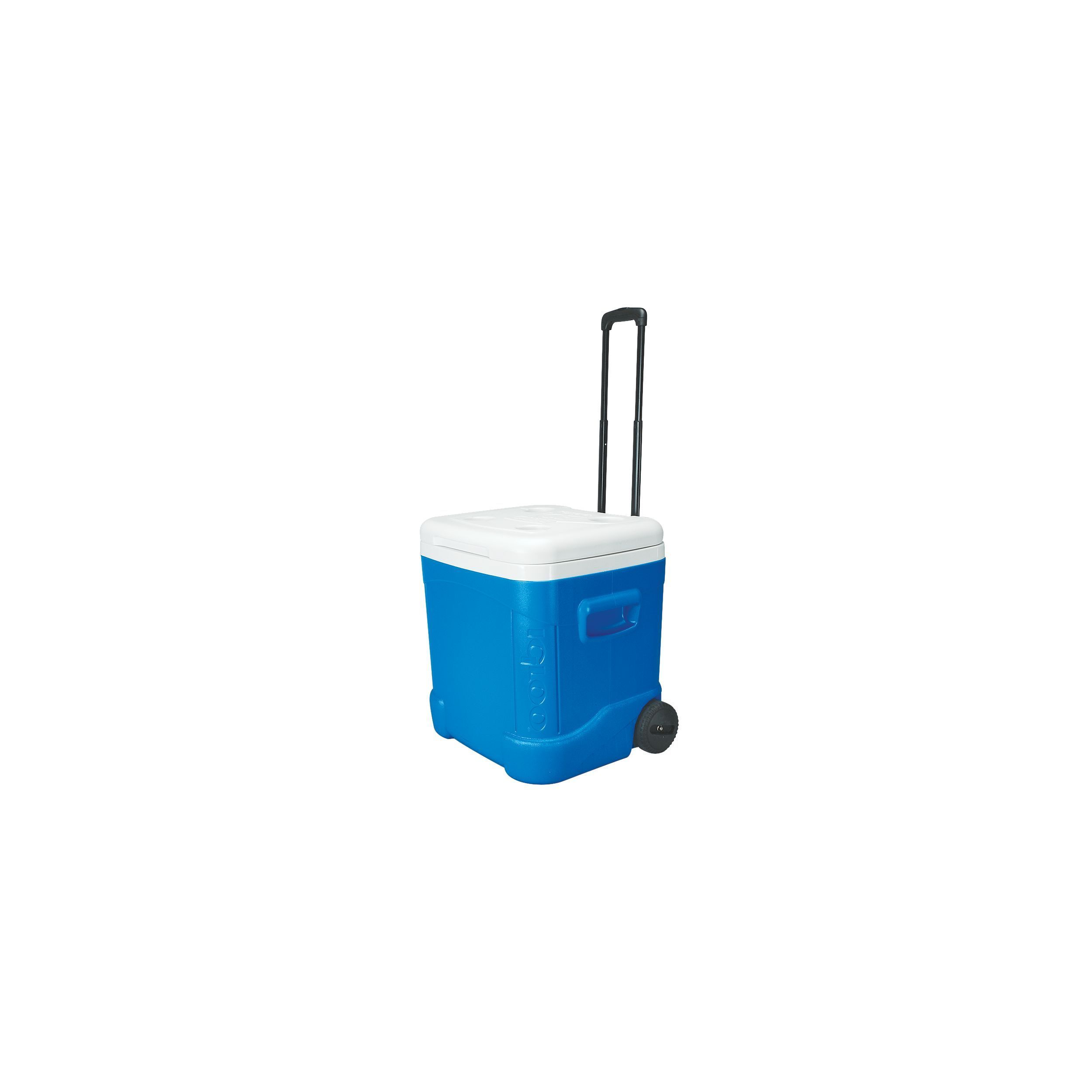Igloo 45097 Ice Cube 60-quart Roller Cooler Blue (Blue), ...