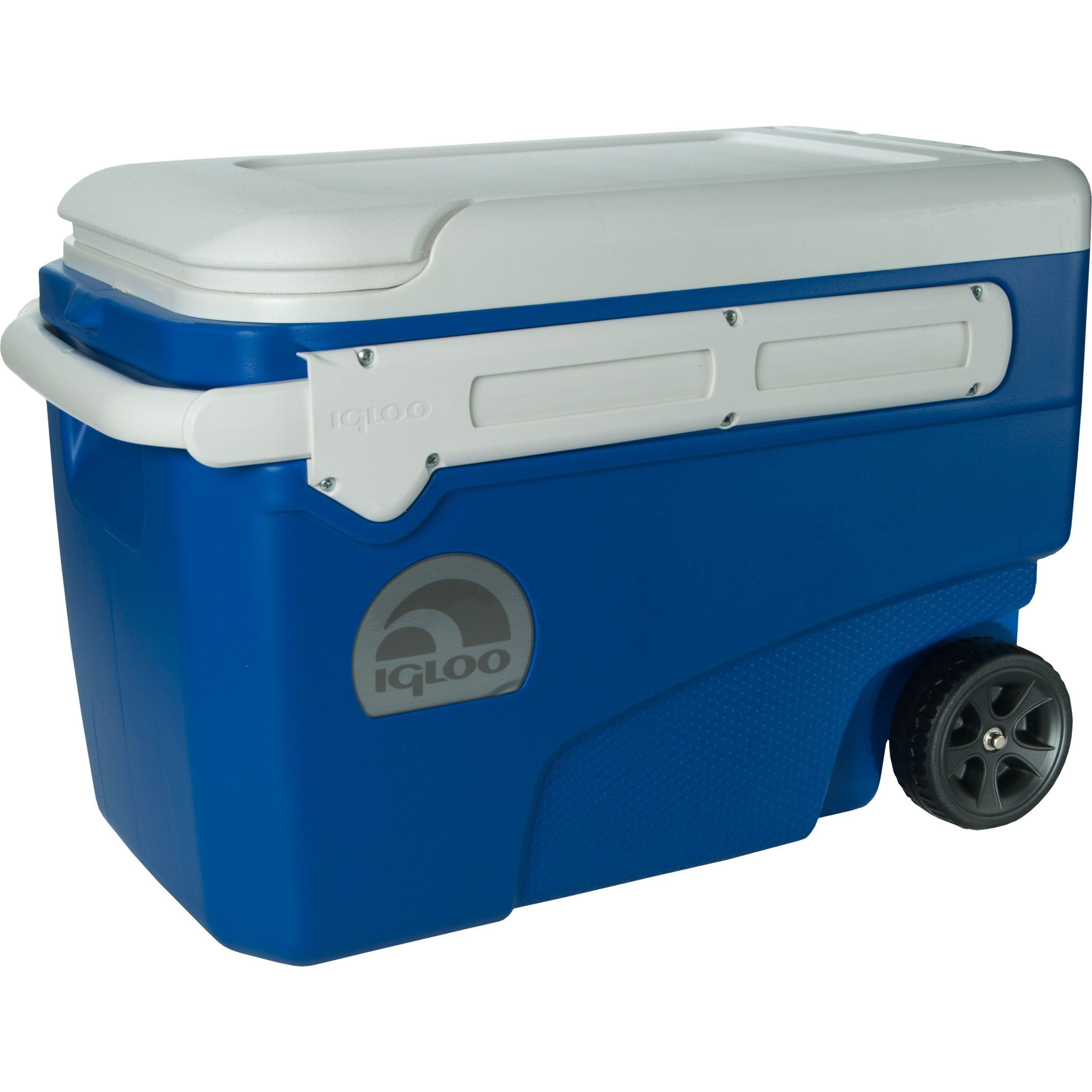 Igloo 45756 38-quart Contour Glide Cooler Blue (Blue) (Oak)