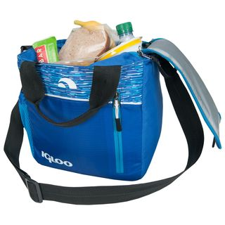 Igloo 59966 Stowe Mini City 9 - Blue Lunch Cooler Tote