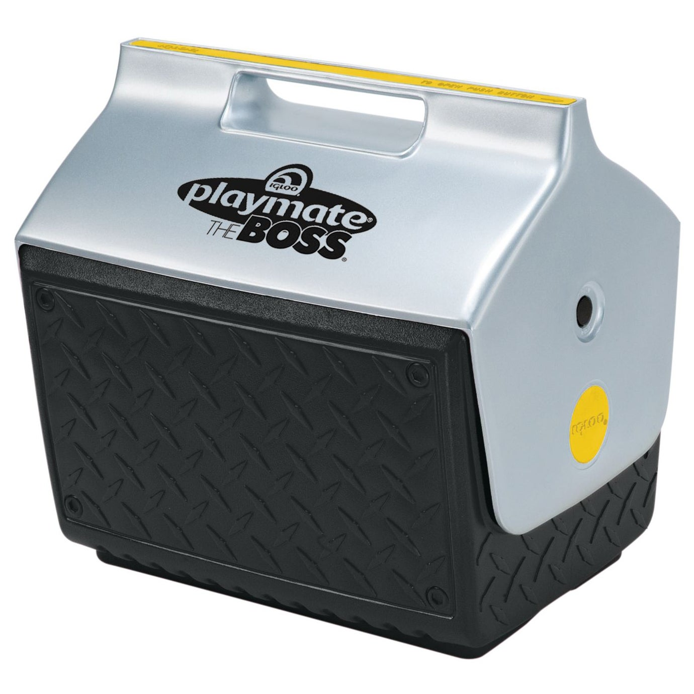 Igloo 43581 Playmate The Boss Cooler (Black Silver Yellow...
