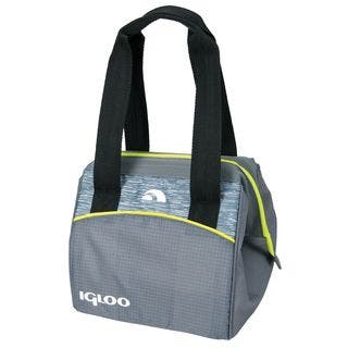 Igloo 59978 Leftover Insulated Tote 9 Stowe -Gray and Lime|https://ak1.ostkcdn.com/images/products/11527184/P18475203.jpg?impolicy=medium