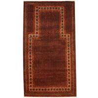 Handmade Herat Oriental Afghan 1970s Semi-antique Tribal Balouchi Wool Rug (Afghanistan) - 2'9 x 5'