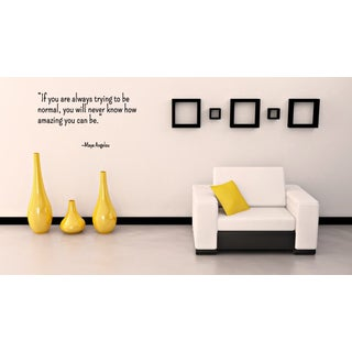 How Amazing You Can Be quote Wall Art Sticker Decal