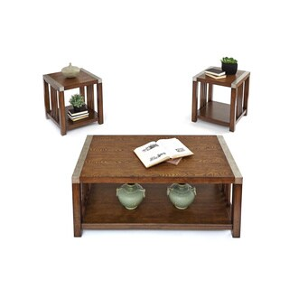 Mason Hills Set of 3 Tables: 1 Cocktail Table and 2 End Tables