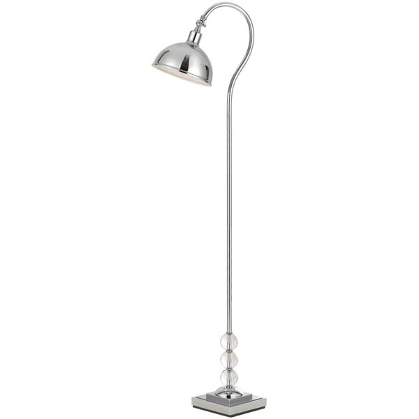 Hollace Floor Lamp - Chrome