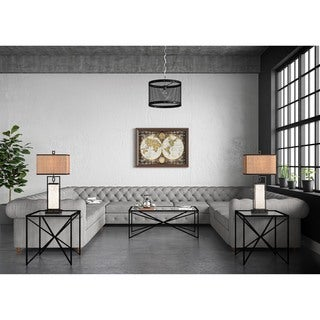 Belcourt Set of 3 Tables: Cocktail Table with Two End Tables