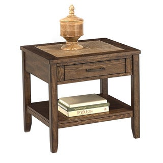 Forest Brook Retangular End Table