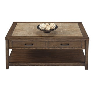 Forest Brook Castered Rectangular Cocktail Table