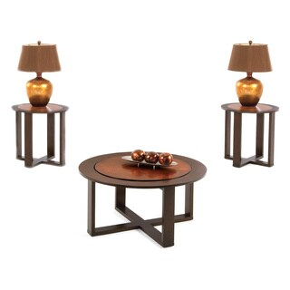 Terrace Set of 3 Tables: Cocktail Table and 2 End Tables