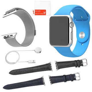 Apple Watch Sport 42mm with 3 Additonal Straps and Screen Protector