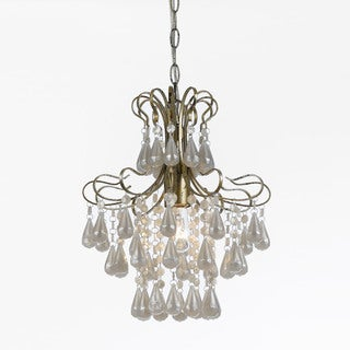 AF Lighting 8693-1H Tiffany Mini White Pearl Chandelier