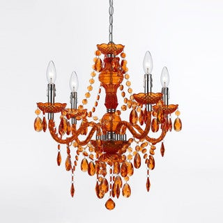 AF Lighting Orange 8682-4H Naples 4-Light Mini Chandelier