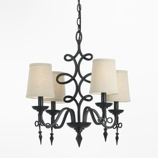 Candice Olson Oil Rubbed Bronze 8601-4H Rhythm Mini Chandelier
