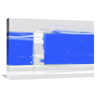 Naxart Studio 'Abstract Blue' Stretched Canvas Wall Art
