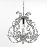 AF Lighting 8478-1H Splendor Mini Chandelier - Chrome