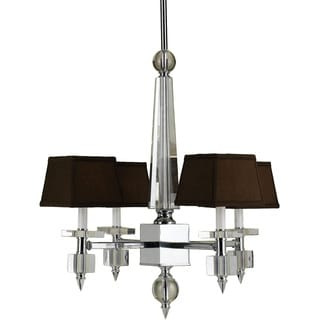 Candice Olson 6686-4H Cluny 4-light Crystal Chandelier
