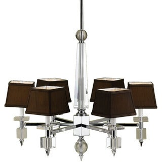 Candice Olson 6685-6H Cluny Six Light Crystal Chandelier