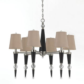 Candice Olson 8235-6H Hollace Crystal Chandelier