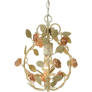 AF Lighting 7051-1H Ramblin' Rose Mini Chandelier