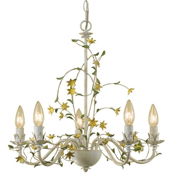 Shop af lighting 7046 5h grace five light star flower chandelier af lighting 7046 5h grace five light star flower chandelier aloadofball Gallery