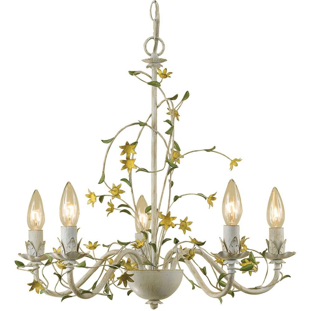 Af Lighting 7046-5H Grace Five-Light Star Flower Chandeli...