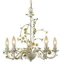 AF Lighting 7046-5H Grace Five-Light Star Flower Chandelier