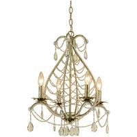 AF Lighting 7008-4H Belinda Mini Chandelier