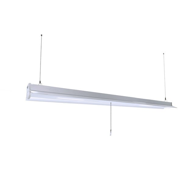 Shop HomeSelects Integrated LED Utility Shop Light With