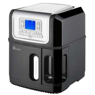 Pursonic AF-30 Air Fryer with LCD Display, Black