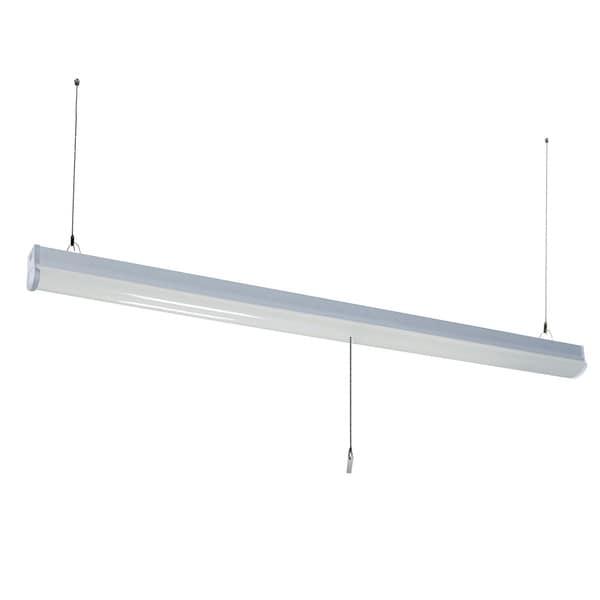 Shop Lights Walmart: Shop HomeSelects Integrated LED Utility Shop Light