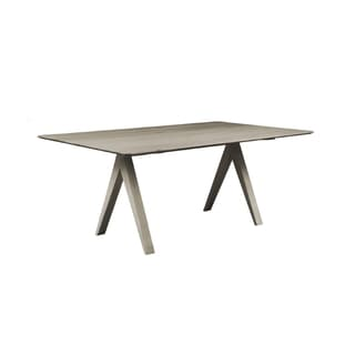 Saloom Soma 36 x 48 Rectangular Maple Smooth Top Dining Table in Nantucket Finish