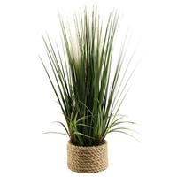 30-inch Mixed Grasses in Ceramic Planter
