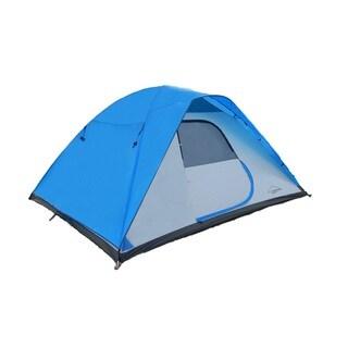 Alpine Mountain Gear 4 Person Tent, Blue