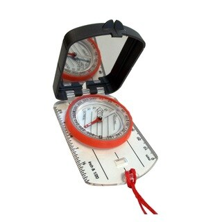 Alpine Mountain Gear Map Compass with Mirror