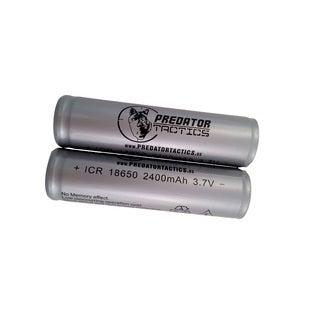 Predator Tactics Batteries-18650 Lithium Ion-2 Pack