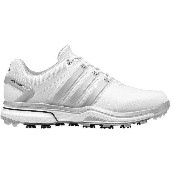 Adidas Adipower Boost Golf Shoes CLOSEOUT White/Silver/White